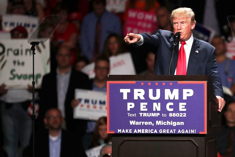 Trump Elected President